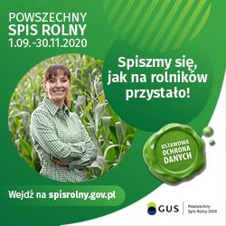 Trwa Powszechny Spis Rolny 2020! - grafika