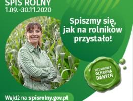 Trwa Powszechny Spis Rolny 2020! - miniaturka